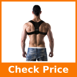 Advanced Posture Corrector by Back Brace Solutions Improve Your Posture Now and Feel The Amazing Benefits/Pain Relief Unisex Support Designed to Eliminate Bad Posture Slouching Hunching