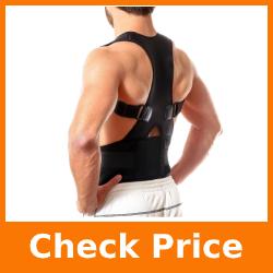 Back Brace Posture Corrector for Men & Women - Adjustable Back Straightener for Posture Correction - Builds Muscle Memory - Provides Neck, Shoulder, Lower & Upper Back Pain Relief