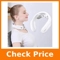 Neck Massager with Heat,Intelligent Wireless Portable 4D Neck Massage Equipment,Deep Tissue Massage Trigger Point for Office, Home, Sport,Travel. William X9-pro