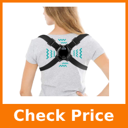 Posture Corrector for Kids Men Women- Smart Posture Back Shoulder Brace - Adjustable Back Straightener Posture Brace for Clavicle Support and Pain Relief from Neck/Back/Shoulder (Black)